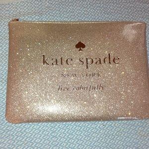 Kate Spade sparkly clutch NWT